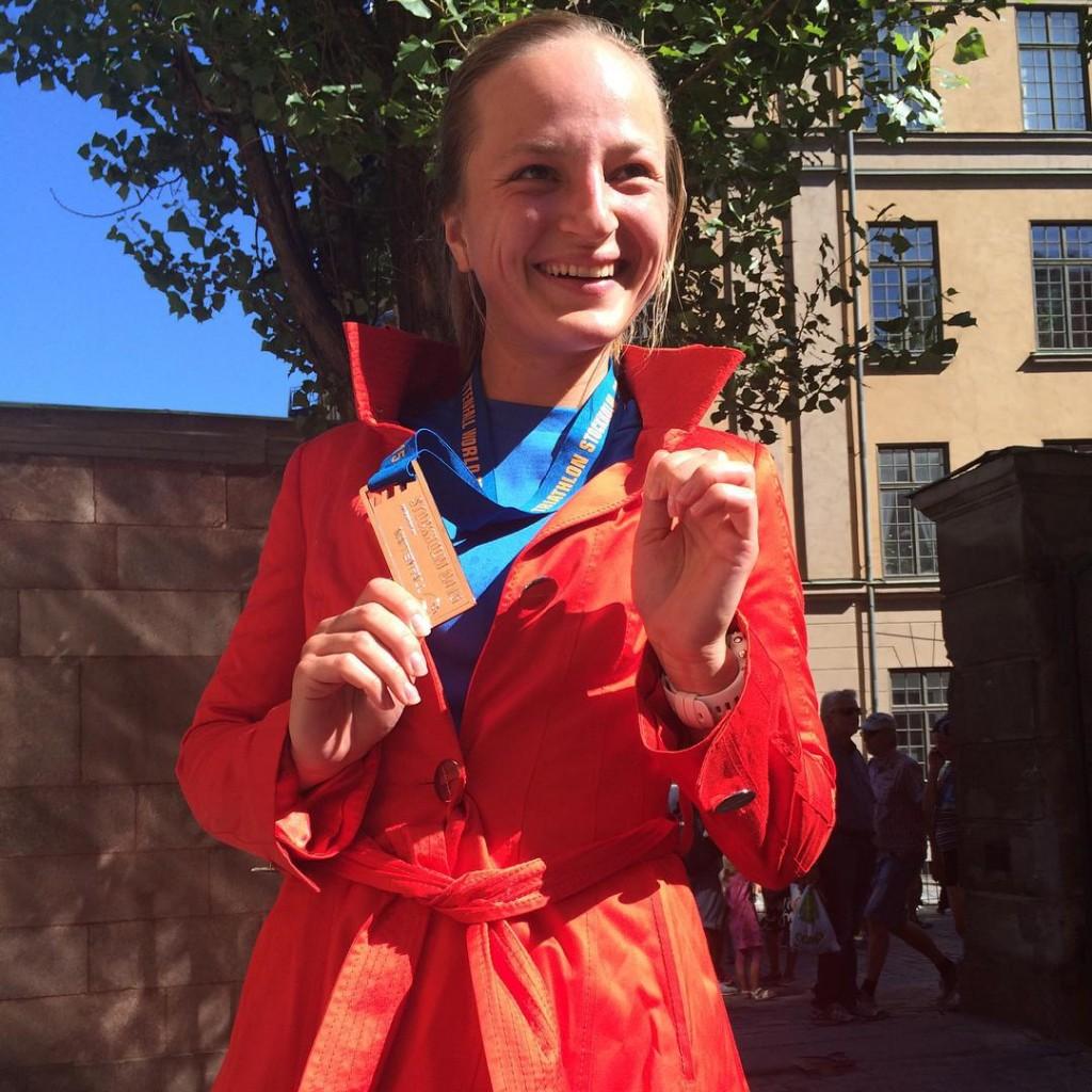The most stylish triathlete  merenlin after her first triathlonhellip