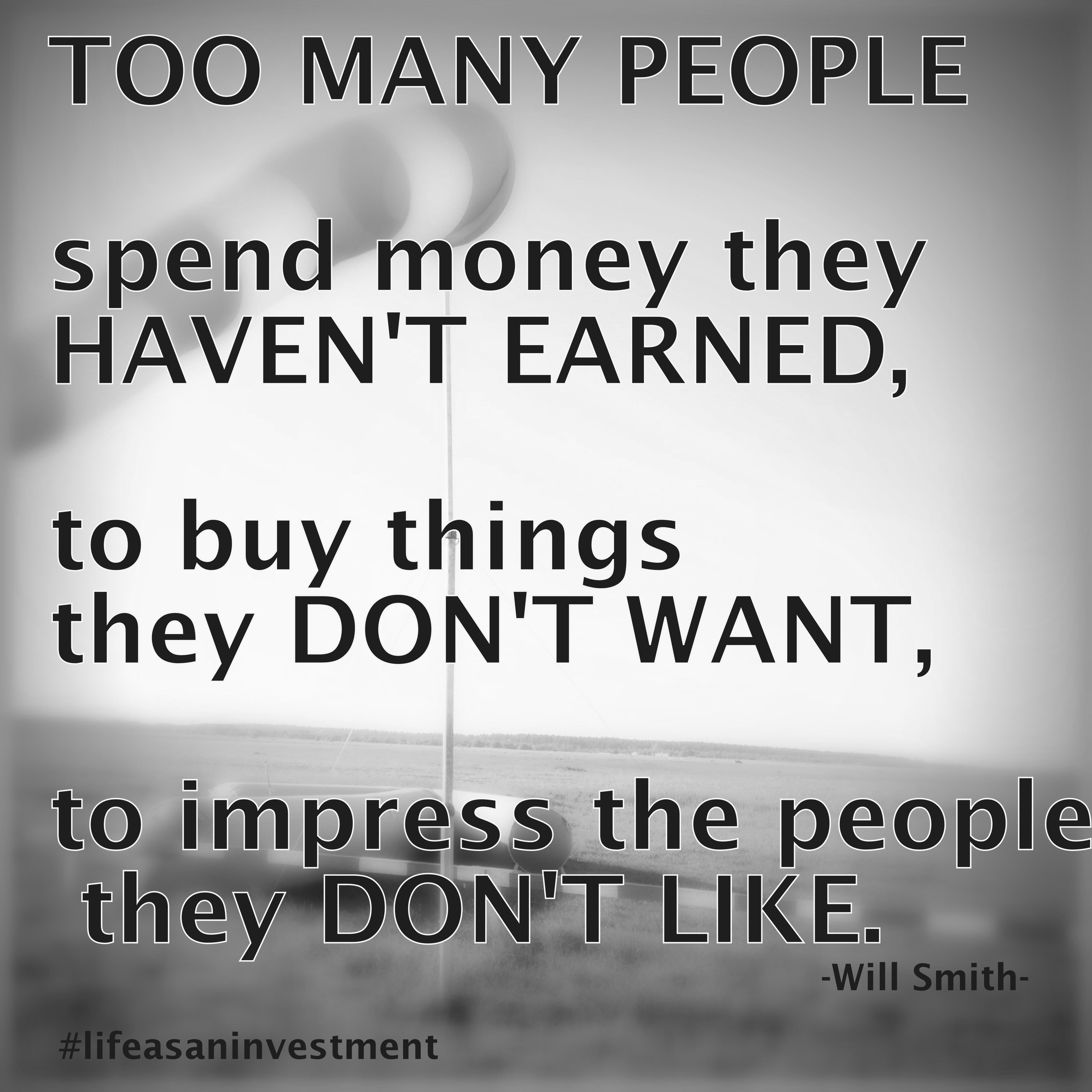 Spending habits 1