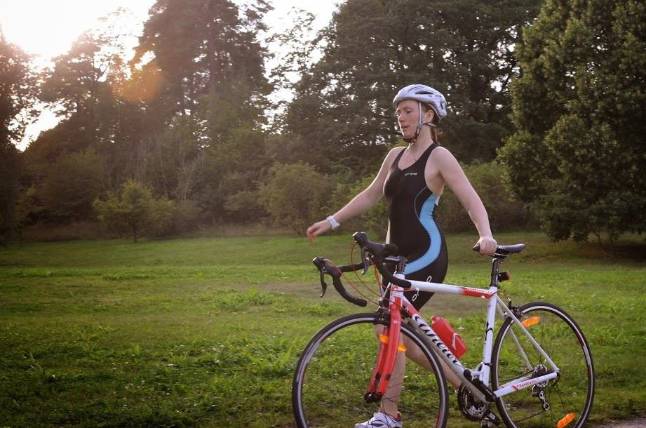 Anna with her Wilier